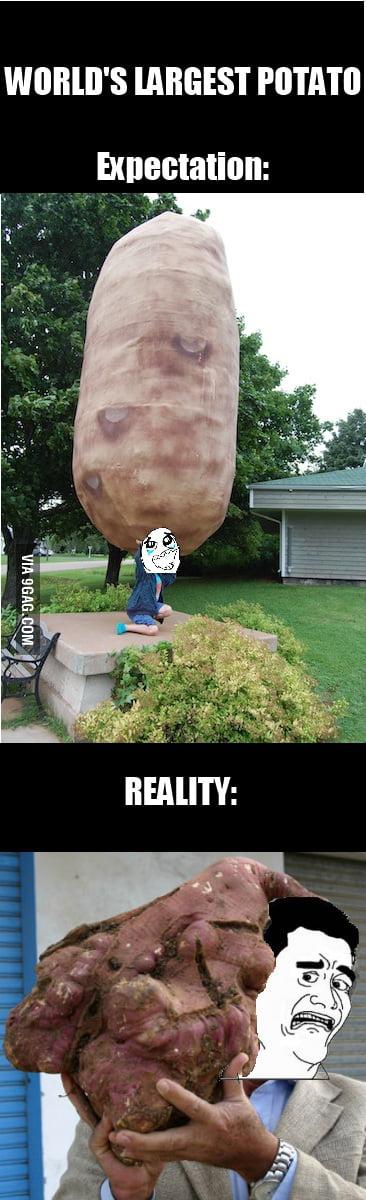Potatoes gonna Potate....