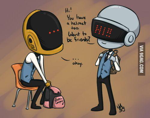 The beginning of Daft Punk