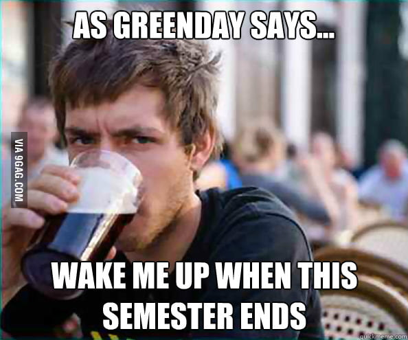 As Greenday says...