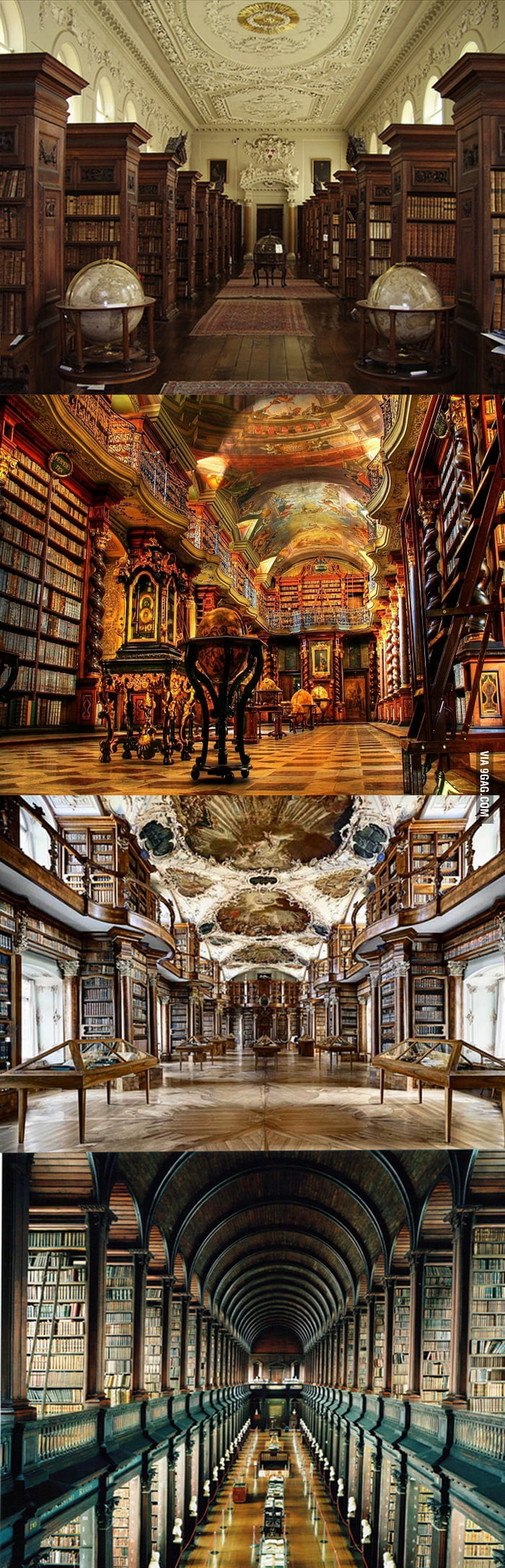 Awesome libraries around the world