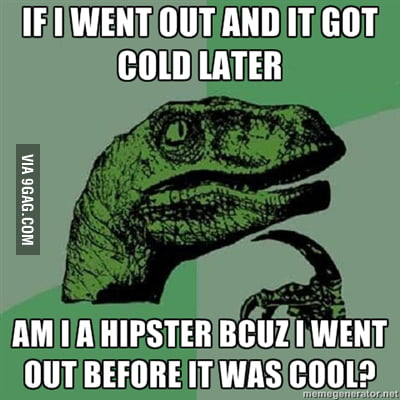 Before it was cool..