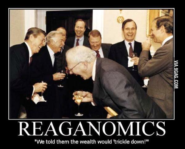Scumbag Ronald Reagan