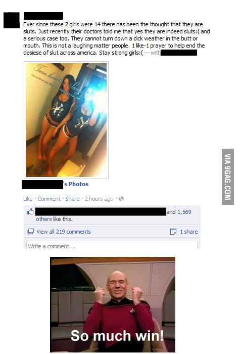 Facebook sluts voyeur