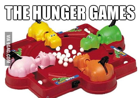 This is the real hunger game