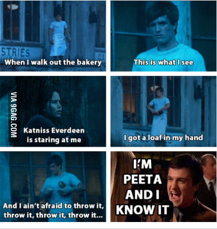 I'm Peeta and I Know It