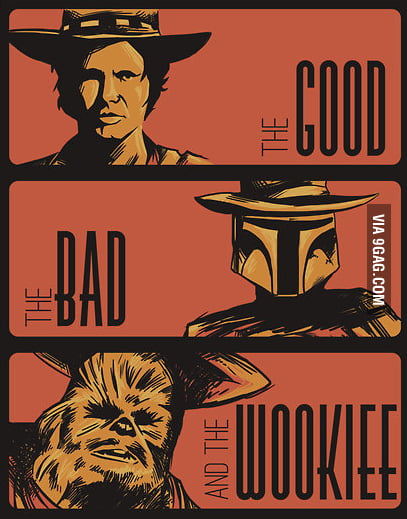 The Good, The Bad, And The Wookiee