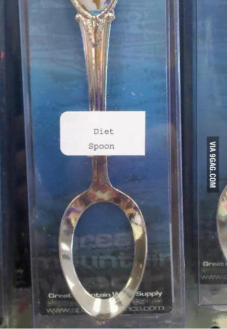 Diets and spoons