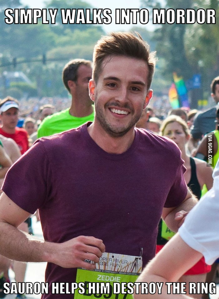 Ridiculously photogenic guy strikes again!