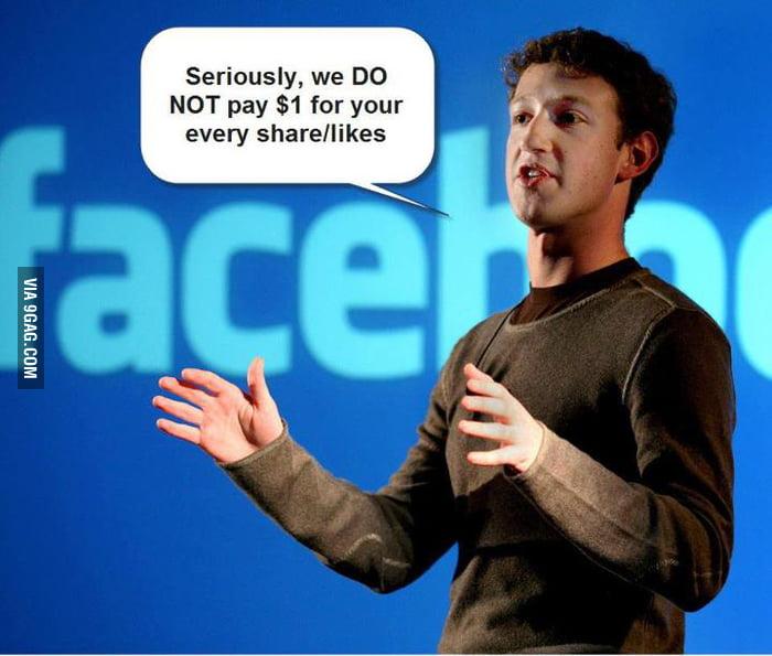 Just Facebook!