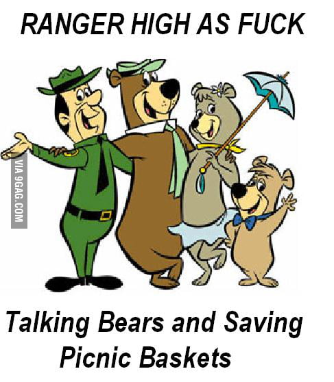 Ranger Was High As ..