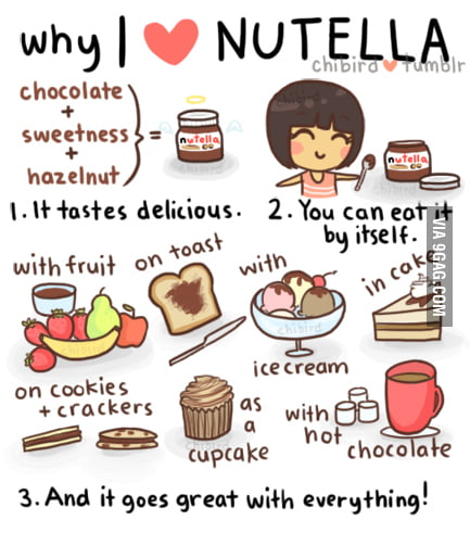 Why I love nutella so much
