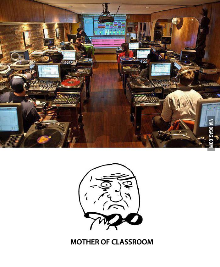 Just a classroom...