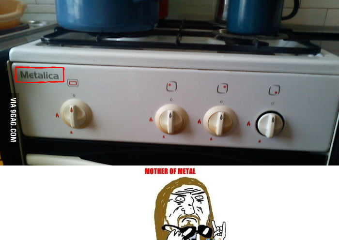 That's my stove'