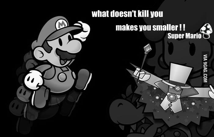 Super Marios Wisdom!
