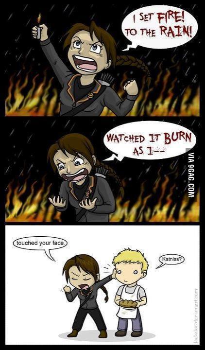 Katniss logic..