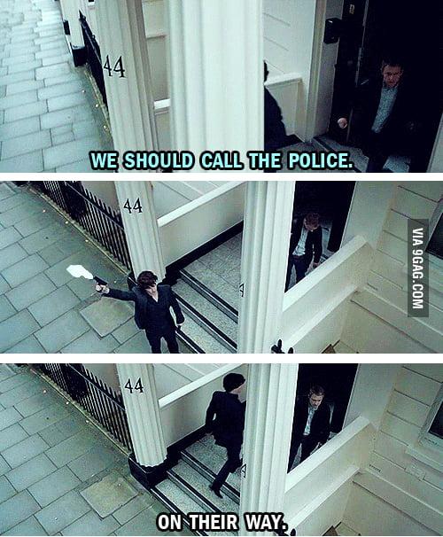 Calling the cops
