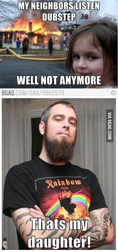 Proud Metalhead Dad is Proud.