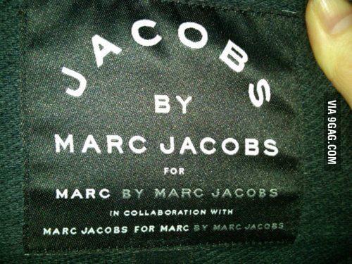 Genius Marc Jacobs Is genius
