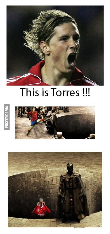 Torres strikes again