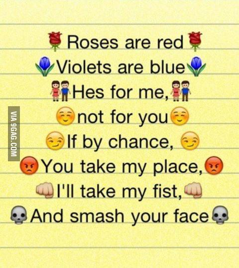 My kind of poem ...