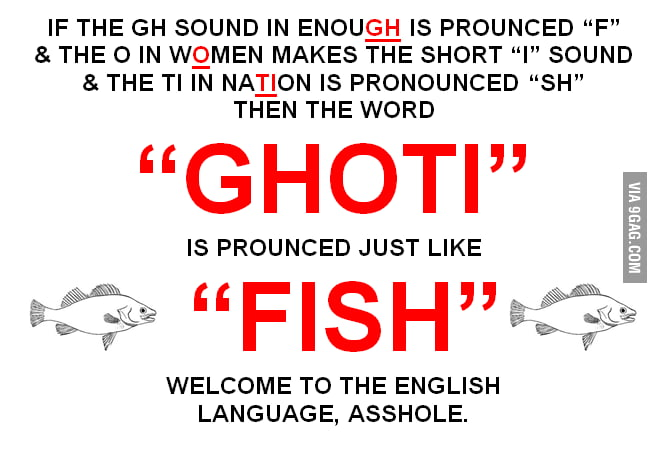 Ohhh, the English language.