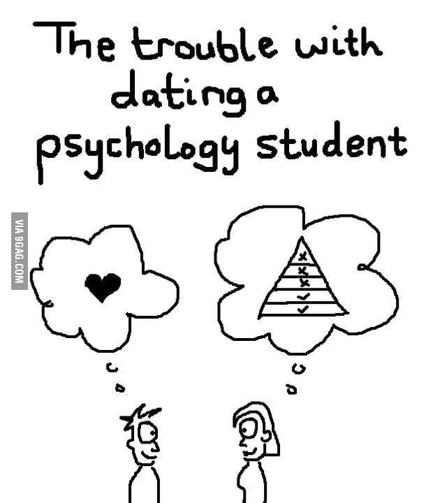Dating a psychology student