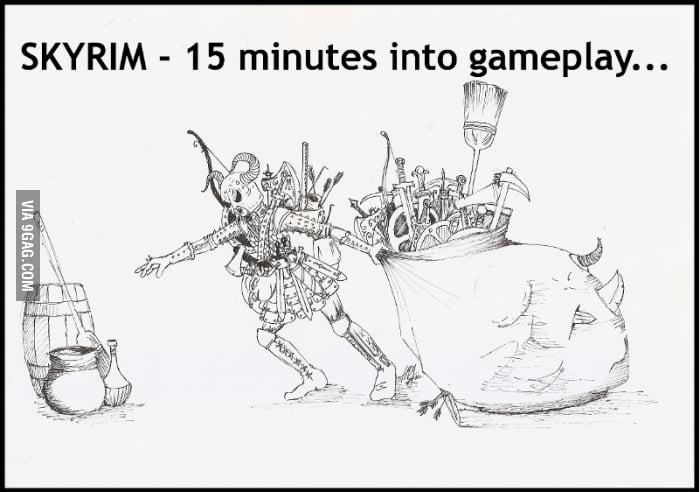 Oh, Skyrim...