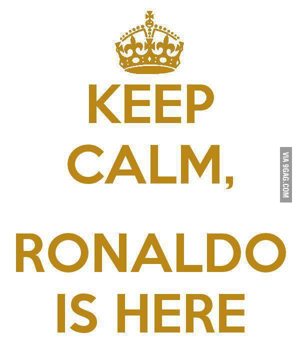 Ronaldo is here