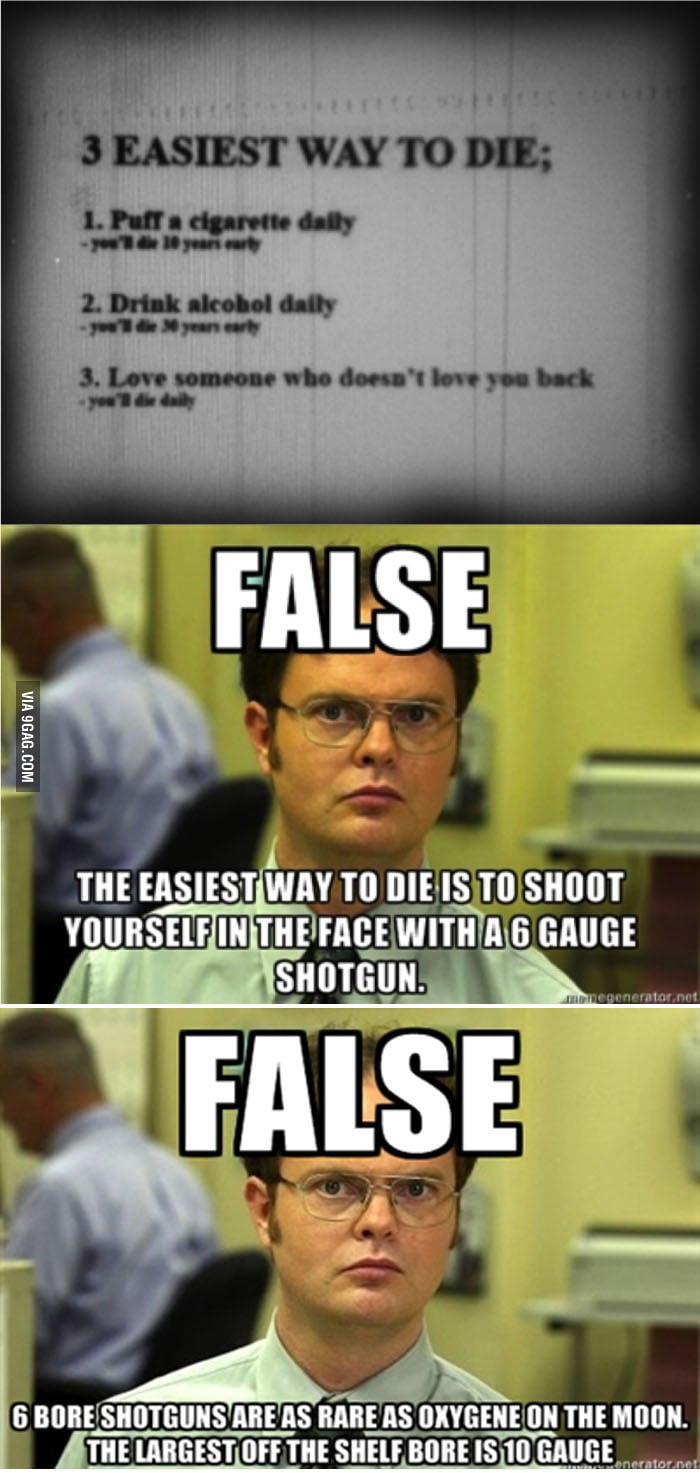 6 Gauge Shotgun??? - 9GAG