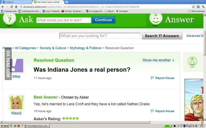 Is Indiana Jones real?