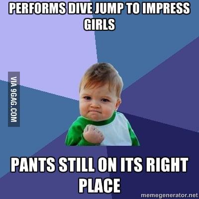 Success Kid strikes again...