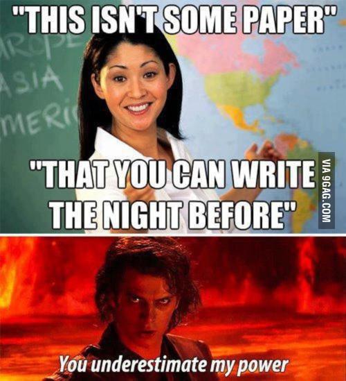 Normal schoolwork