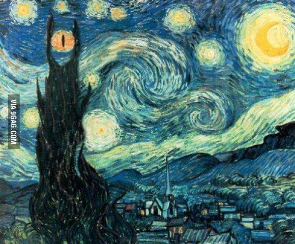 Van Gogh served the dark lord