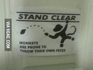 Just a caution sign at le museum... wait...