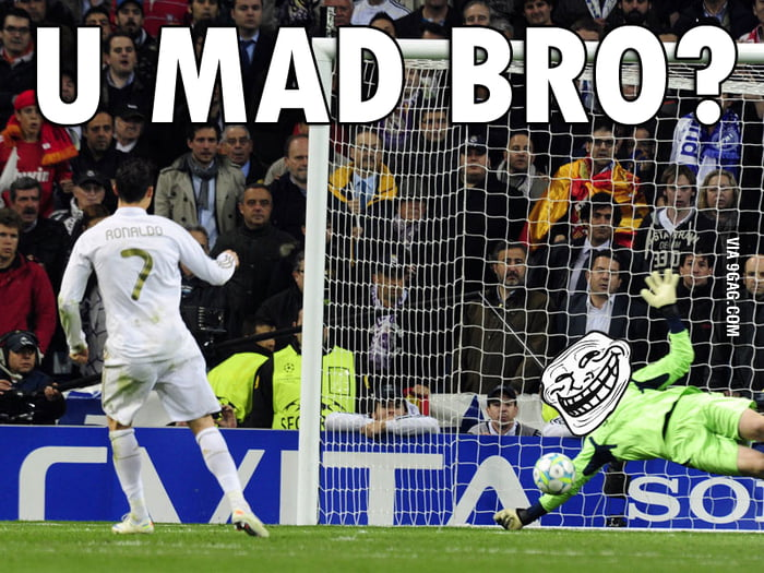 U mad real fans?