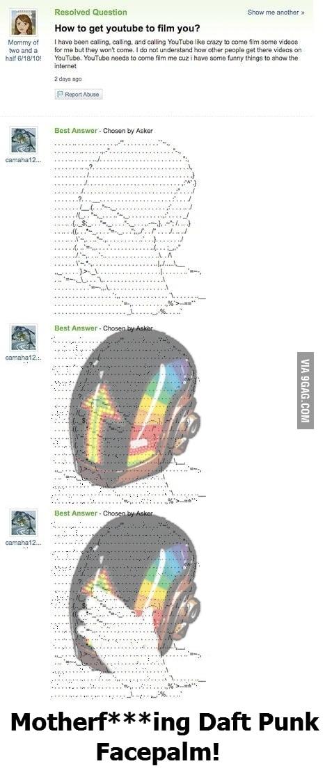 ASCII Daft Punk