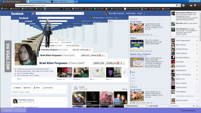 Facebook timelineception