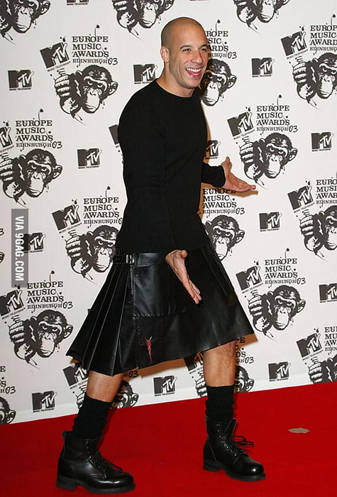 Vin Diesel In A Skirt 68