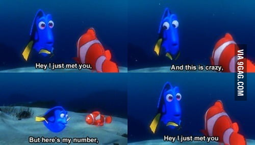 Hey I just met you!