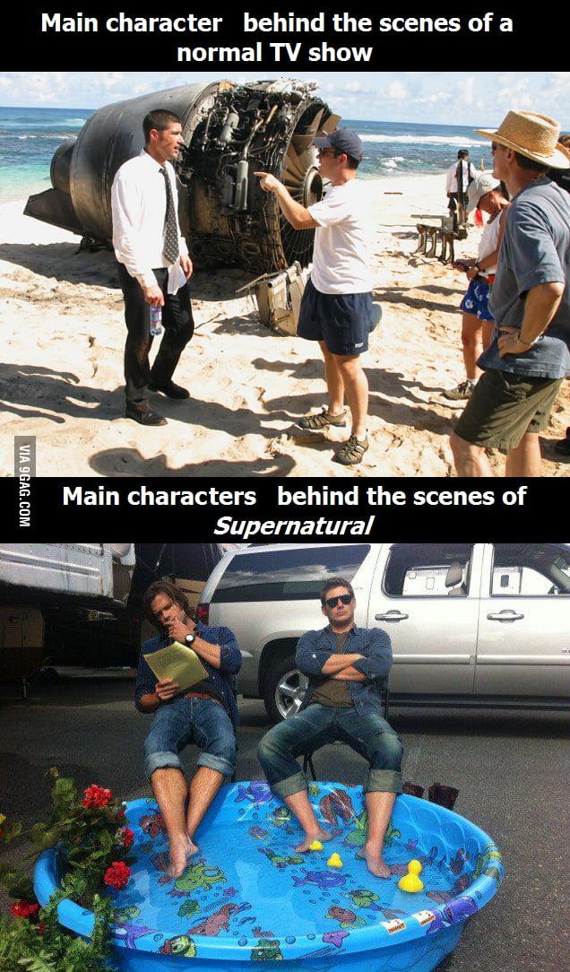 Behind the scenes of Supernatural