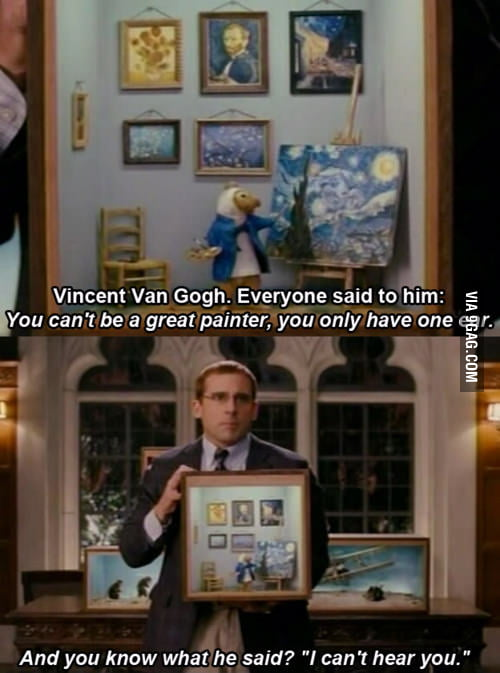 Just Steve Carell being awesome.