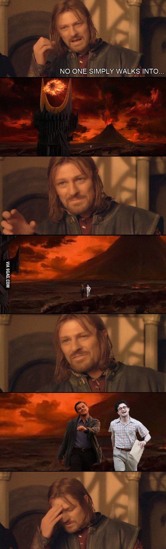 Two do not simply walk into Mordor...