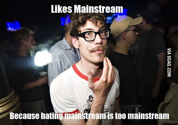 Hipster being a hipster