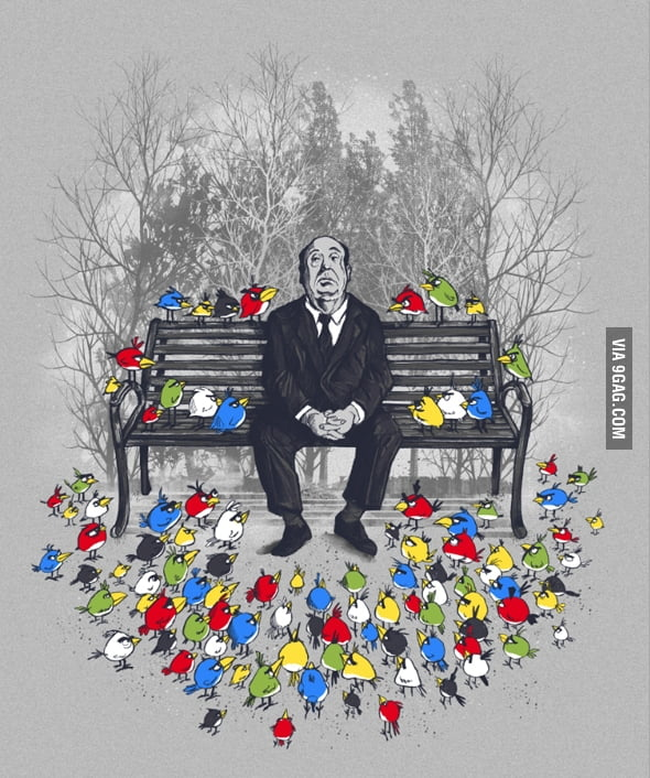 Hitchcock and Angry Birds
