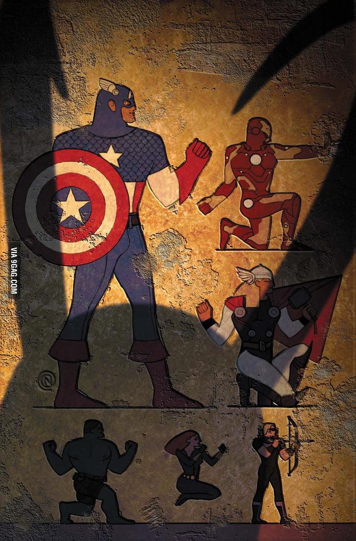 Avengers 3000 years ago