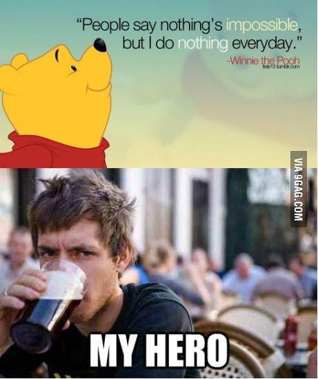 Ohh Winnie the Pooh....