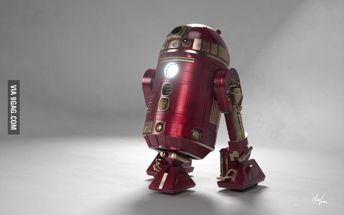 Iron Man x R2D2