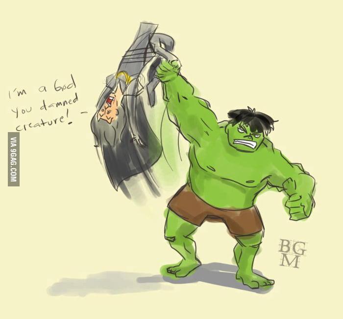 Best Scene in The Avengers (spoiler alert)