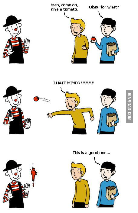 The good mime