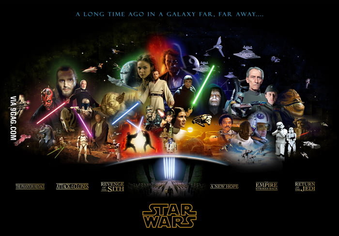 All Star Wars In One